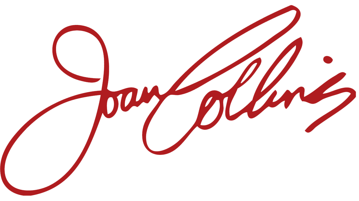 The official website of Joan Collins DBE